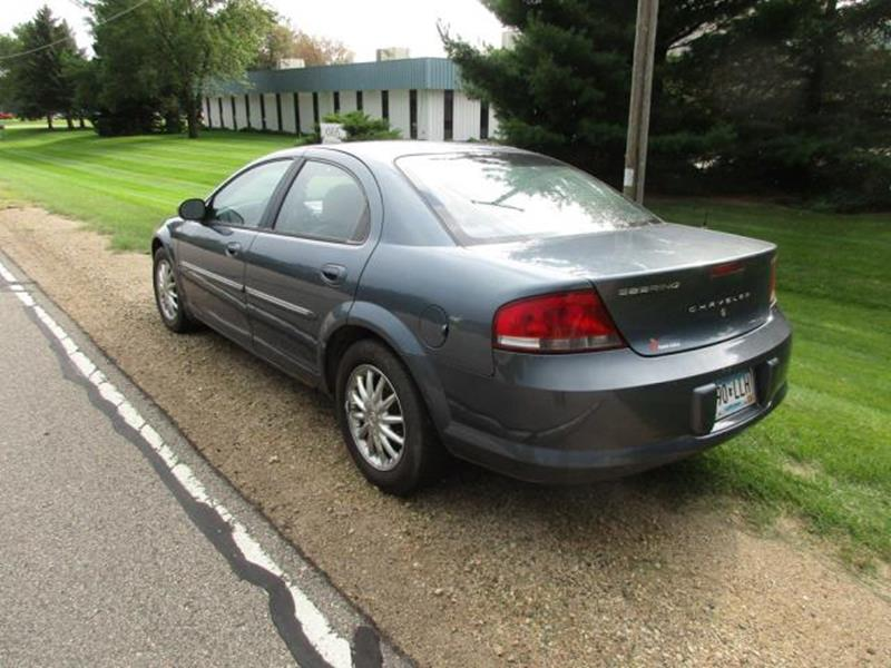 2003 Chrysler Sebring for sale at HUDSON AUTO MART LLC in Hudson WI