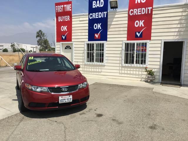 2010 Kia Forte for sale at CALIFORNIA AUTO FINANCE GROUP in Fontana CA