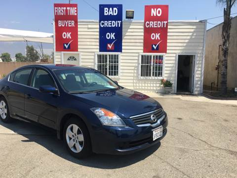 2008 Nissan Altima for sale at CALIFORNIA AUTO FINANCE GROUP in Fontana CA