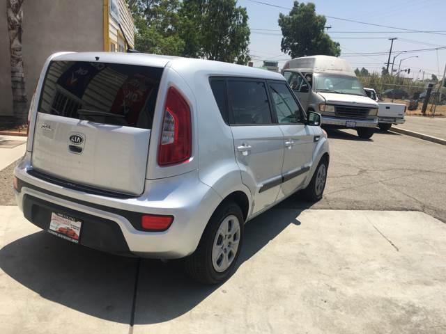 2012 Kia Soul for sale at CALIFORNIA AUTO FINANCE GROUP in Fontana CA
