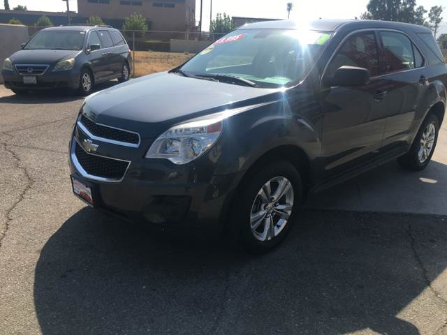 2011 Chevrolet Equinox for sale at CALIFORNIA AUTO FINANCE GROUP in Fontana CA