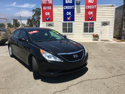 2013 Hyundai Sonata for sale at CALIFORNIA AUTO FINANCE GROUP in Fontana CA