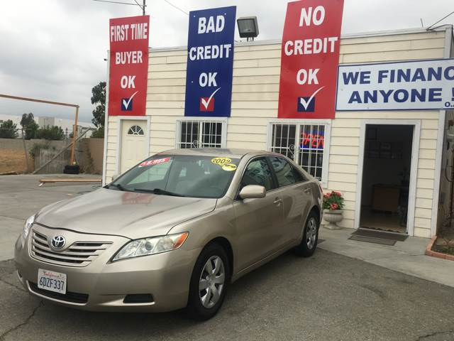 2009 Toyota Camry for sale at CALIFORNIA AUTO FINANCE GROUP in Fontana CA