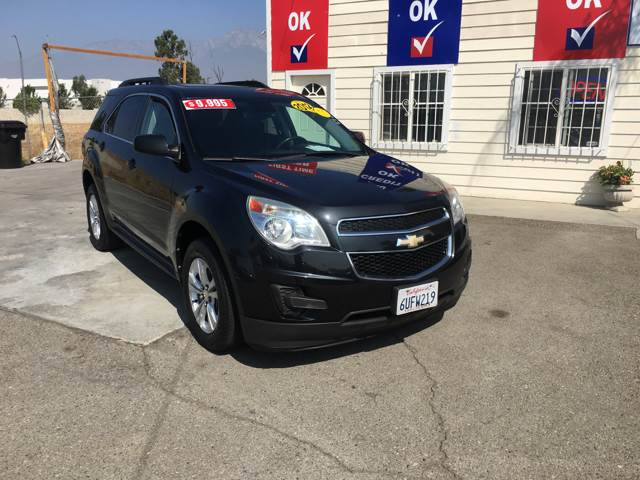 2012 Chevrolet Equinox for sale at CALIFORNIA AUTO FINANCE GROUP in Fontana CA