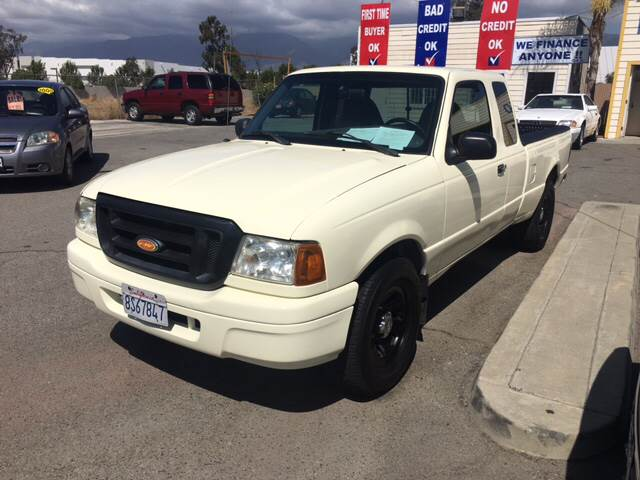 2002 Ford Ranger for sale at CALIFORNIA AUTO FINANCE GROUP in Fontana CA