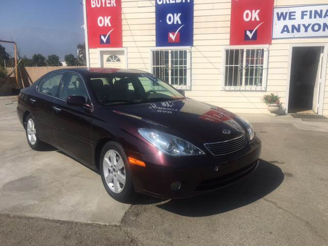 2005 Lexus ES 330 for sale at CALIFORNIA AUTO FINANCE GROUP in Fontana CA