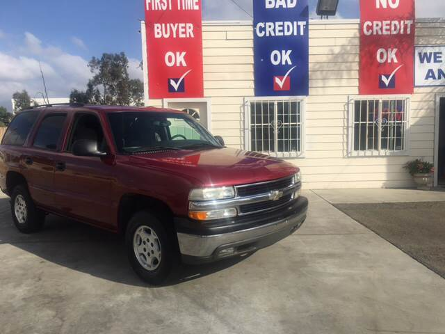 2004 Chevrolet Tahoe for sale at CALIFORNIA AUTO FINANCE GROUP in Fontana CA