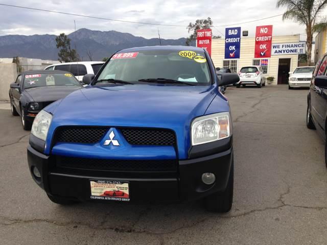 2008 Mitsubishi Raider for sale at CALIFORNIA AUTO FINANCE GROUP in Fontana CA