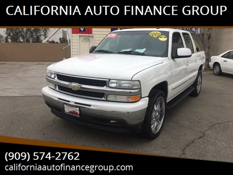 2005 Chevrolet Suburban for sale at CALIFORNIA AUTO FINANCE GROUP in Fontana CA