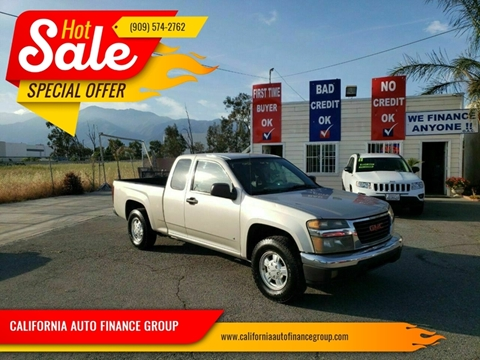2007 GMC Canyon for sale in Fontana, CA