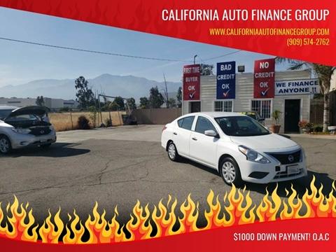 2016 Nissan Versa for sale in Fontana, CA