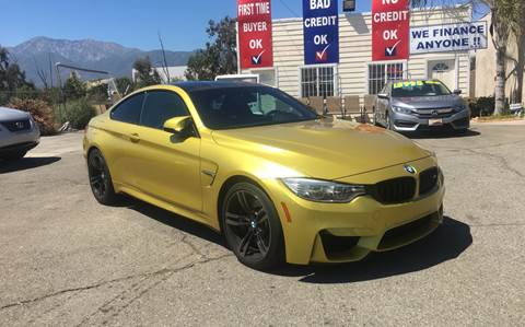 Used Bmw M4 >> 2016 Bmw M4 For Sale In Fontana Ca