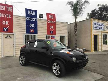 2012 Nissan JUKE for sale at CALIFORNIA AUTO FINANCE GROUP in Fontana CA