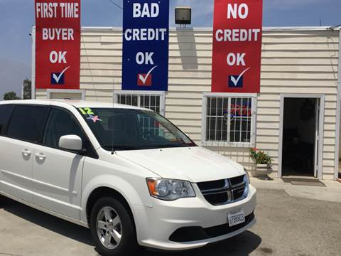 2012 Dodge Grand Caravan for sale at CALIFORNIA AUTO FINANCE GROUP in Fontana CA