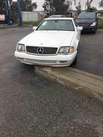 1997 Mercedes-Benz SL-Class for sale at CALIFORNIA AUTO FINANCE GROUP in Fontana CA