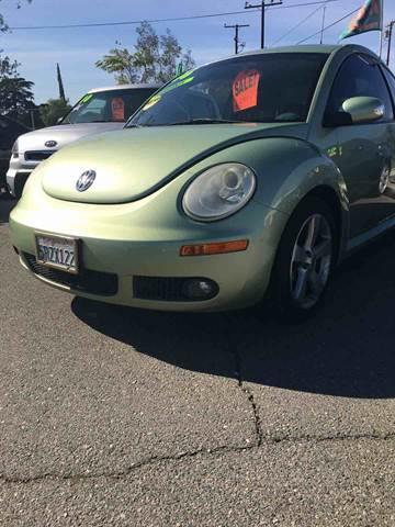2006 Volkswagen New Beetle for sale at CALIFORNIA AUTO FINANCE GROUP in Fontana CA