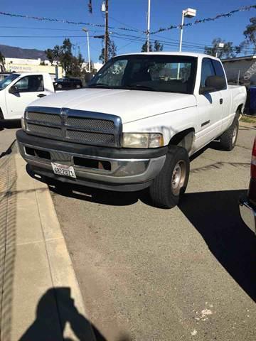 2001 Dodge Ram Pickup 1500 for sale at CALIFORNIA AUTO FINANCE GROUP in Fontana CA