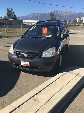 2008 Kia Rondo for sale at CALIFORNIA AUTO FINANCE GROUP in Fontana CA