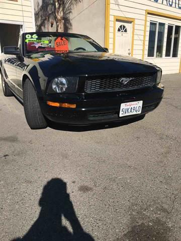 2006 Ford Mustang for sale at CALIFORNIA AUTO FINANCE GROUP in Fontana CA