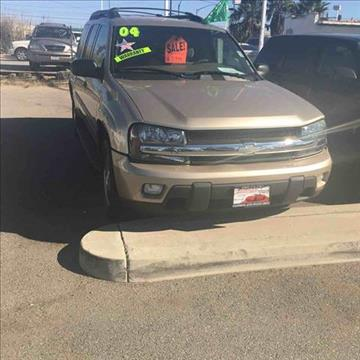 2004 Chevrolet TrailBlazer EXT for sale at CALIFORNIA AUTO FINANCE GROUP in Fontana CA
