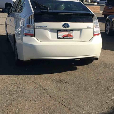 2011 Toyota Prius for sale at CALIFORNIA AUTO FINANCE GROUP in Fontana CA