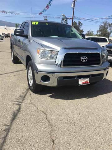 2007 Toyota Tundra for sale at CALIFORNIA AUTO FINANCE GROUP in Fontana CA