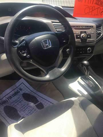 2012 Honda Civic for sale at CALIFORNIA AUTO FINANCE GROUP in Fontana CA
