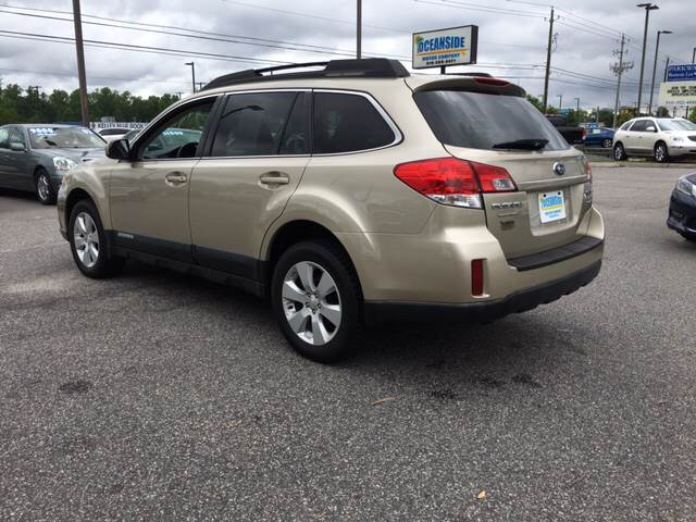 2010 Subaru Outback for sale at Oceanside Motor Company in Wilmington NC