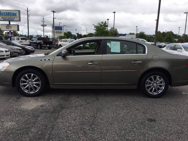 2010 Buick Lucerne for sale at Oceanside Motor Company in Wilmington NC