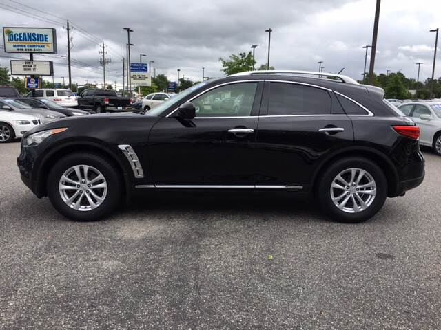 2012 Infiniti FX35 for sale at Oceanside Motor Company in Wilmington NC