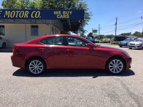 2007 Lexus IS 250 for sale at Oceanside Motor Company in Wilmington NC
