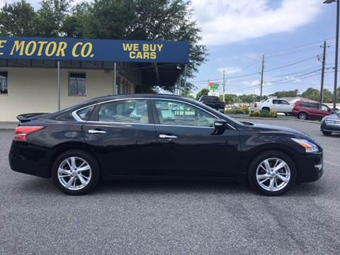 2013 Nissan Altima for sale at Oceanside Motor Company in Wilmington NC