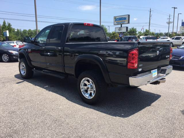 2009 Dodge Ram Pickup 2500 for sale at Oceanside Motor Company in Wilmington NC