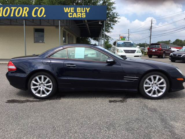 2007 Mercedes-Benz SL-Class for sale at Oceanside Motor Company in Wilmington NC