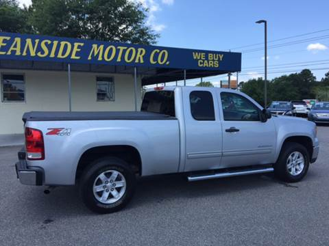 2012 GMC Sierra 1500 for sale at Oceanside Motor Company in Wilmington NC