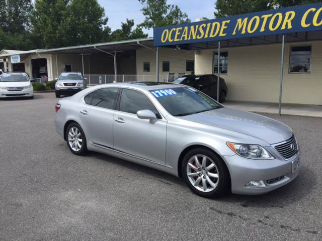 2008 Lexus LS 460 for sale at Oceanside Motor Company in Wilmington NC