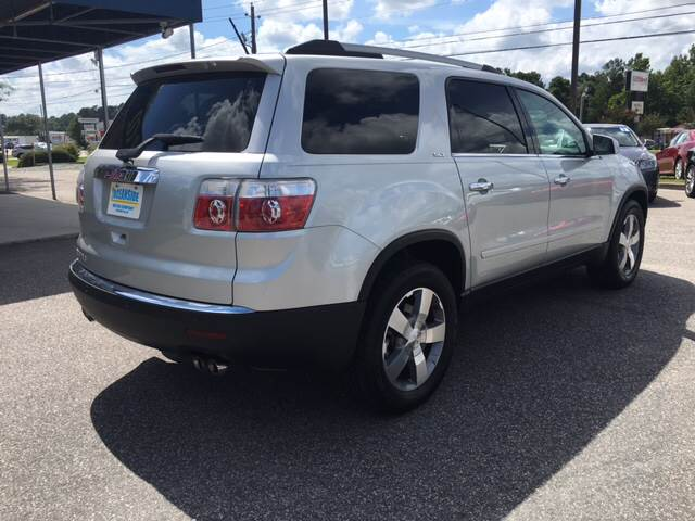 2012 GMC Acadia for sale at Oceanside Motor Company in Wilmington NC