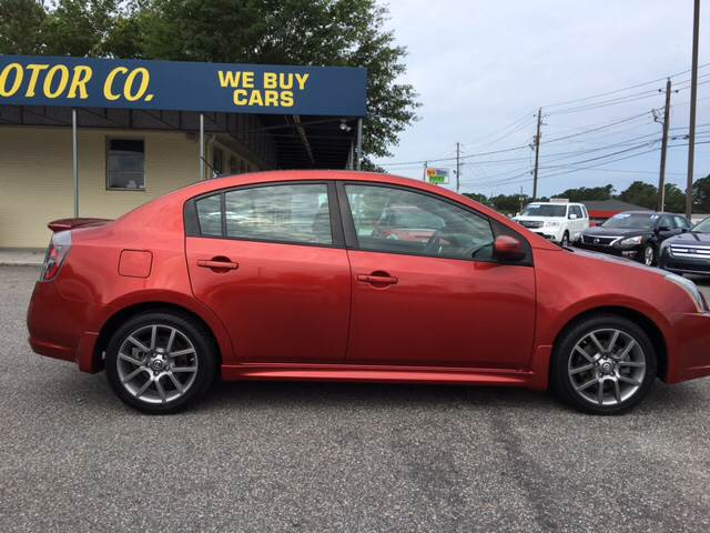 2010 Nissan Sentra for sale at Oceanside Motor Company in Wilmington NC