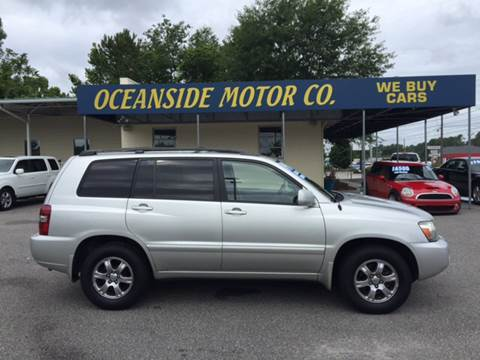 2006 Toyota Highlander for sale at Oceanside Motor Company in Wilmington NC