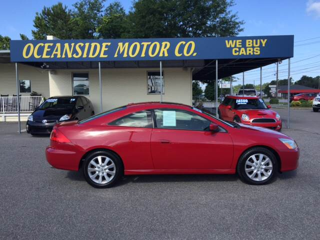 2007 Honda Accord for sale at Oceanside Motor Company in Wilmington NC