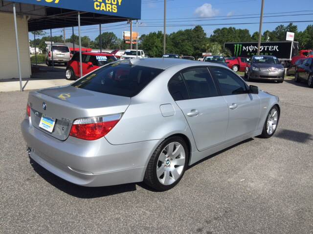 2007 BMW 5 Series for sale at Oceanside Motor Company in Wilmington NC