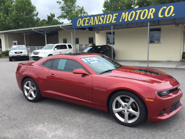 2015 Chevrolet Camaro for sale at Oceanside Motor Company in Wilmington NC