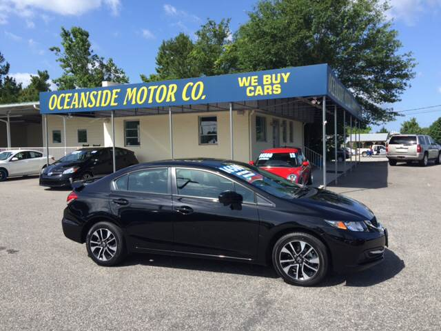 2015 Honda Civic for sale at Oceanside Motor Company in Wilmington NC