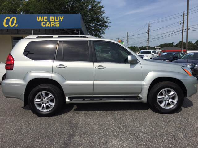 2004 Lexus GX 470 for sale at Oceanside Motor Company in Wilmington NC