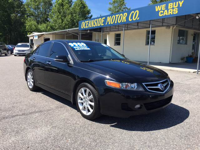 2007 Acura TSX for sale at Oceanside Motor Company in Wilmington NC
