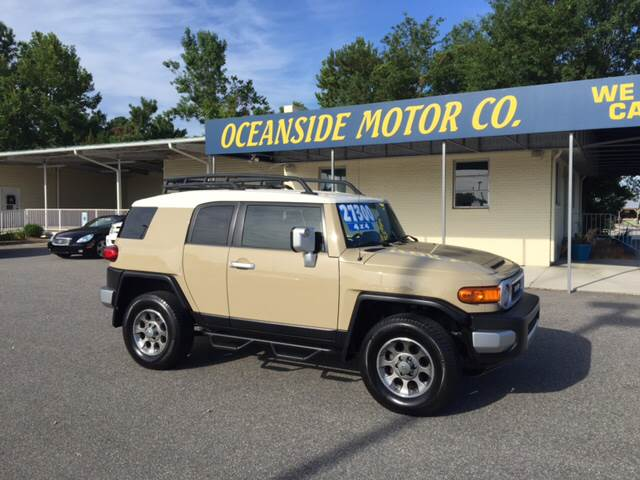 2012 Toyota FJ Cruiser for sale at Oceanside Motor Company in Wilmington NC