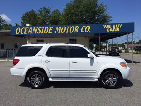 2007 Toyota Sequoia for sale at Oceanside Motor Company in Wilmington NC