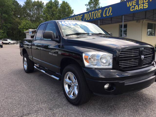 2007 Dodge Ram Pickup 1500 for sale at Oceanside Motor Company in Wilmington NC