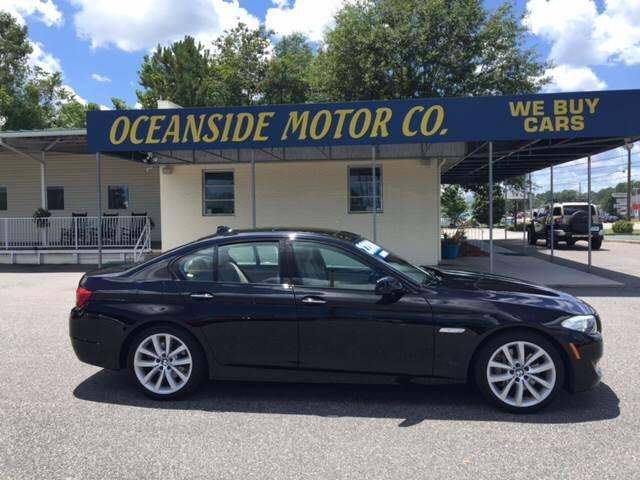2012 BMW 5 Series 535i In Wilmington NC  Oceanside Motor Company