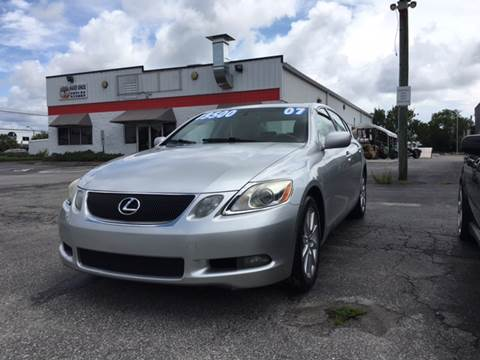 2007 Lexus GS 350 for sale at Oceanside Motor Company in Wilmington NC